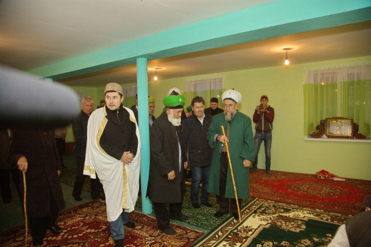Открытие мечети в д. Усман (РБ, Аургазинский р-н)