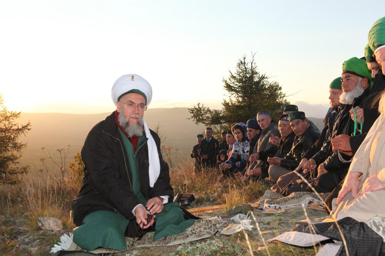 Посещение Родины Великого Шейха Зайнуллы Расулева
